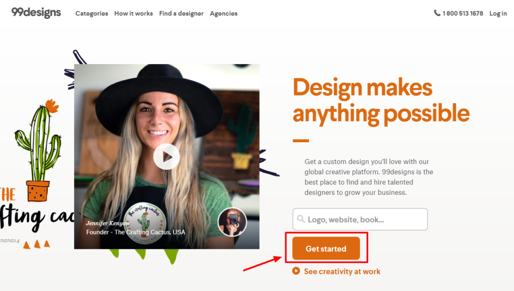99designs creative platform -design makes anythings possible