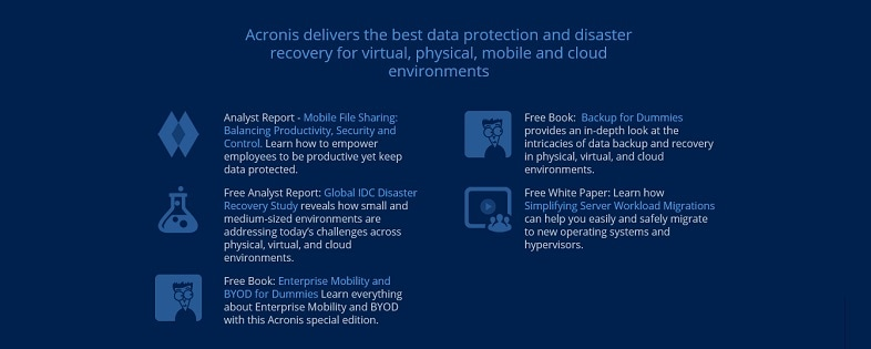 data protection & backup