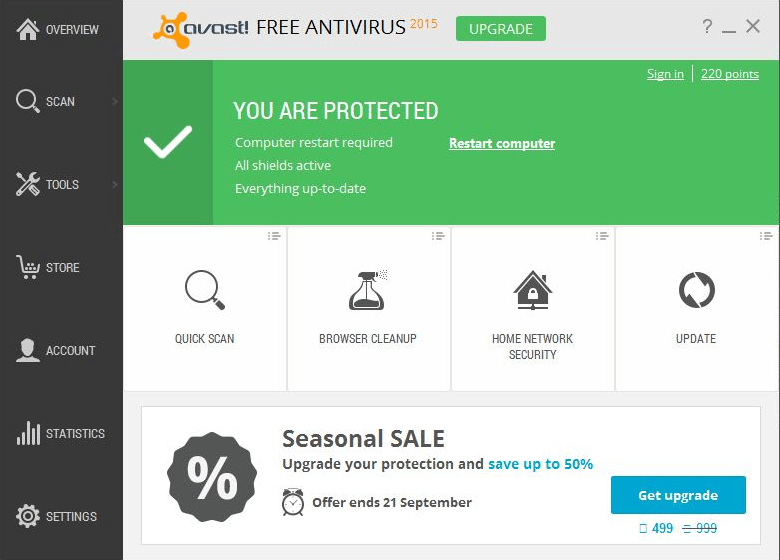 AVAST Free for Windows