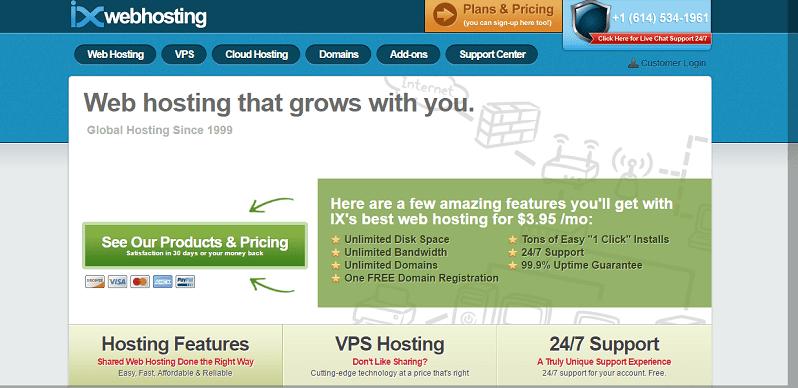 IX Web Hosting Coupon Codes