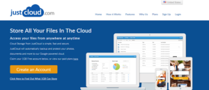 JustCloud  Coupon Codes August 2016-25%-35% Off!