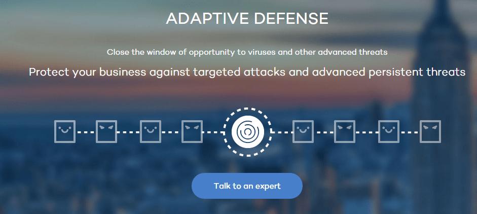 Panda adaptive defence