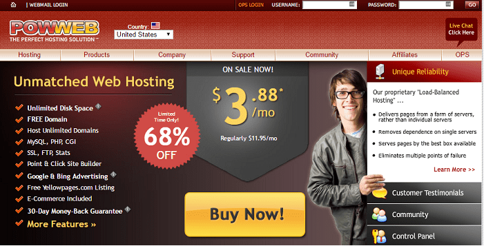 PowWeb hosting Coupon Codes