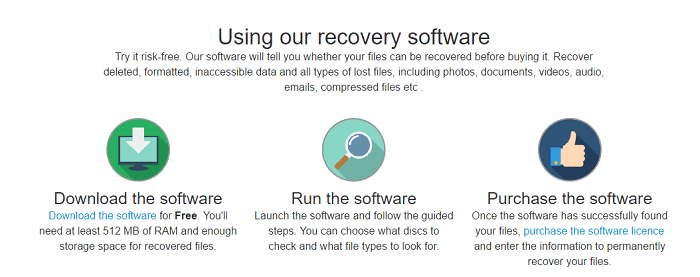 Segate File recovery software