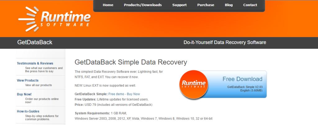 GetDataBack Software