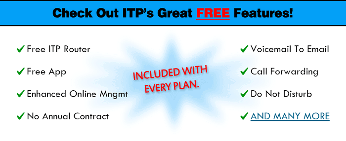 ITP VoIP Coupons and features