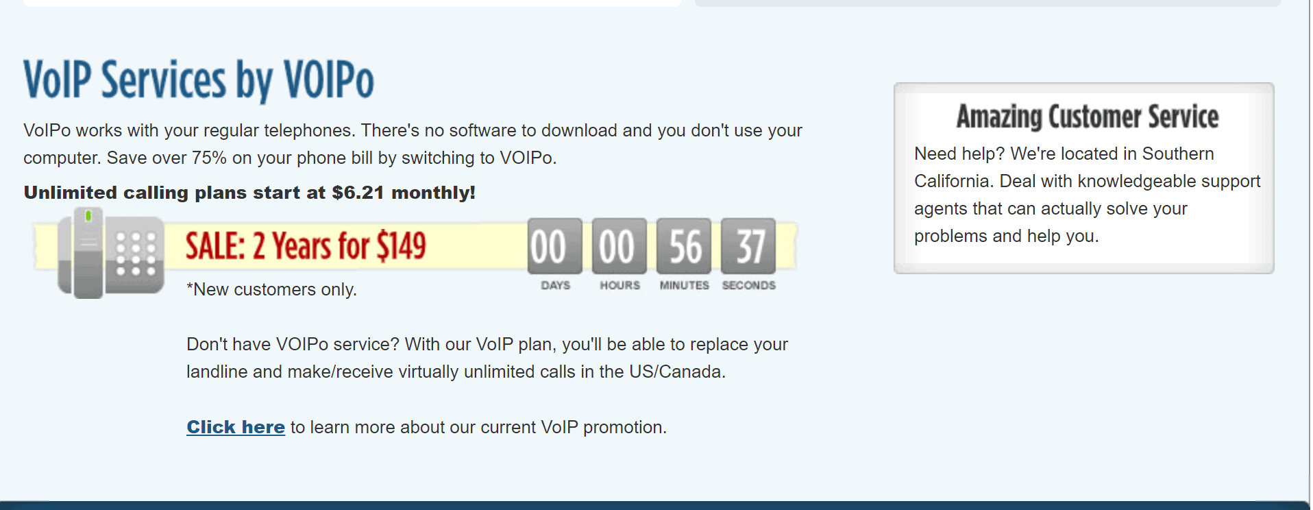 VOIPO promo codes