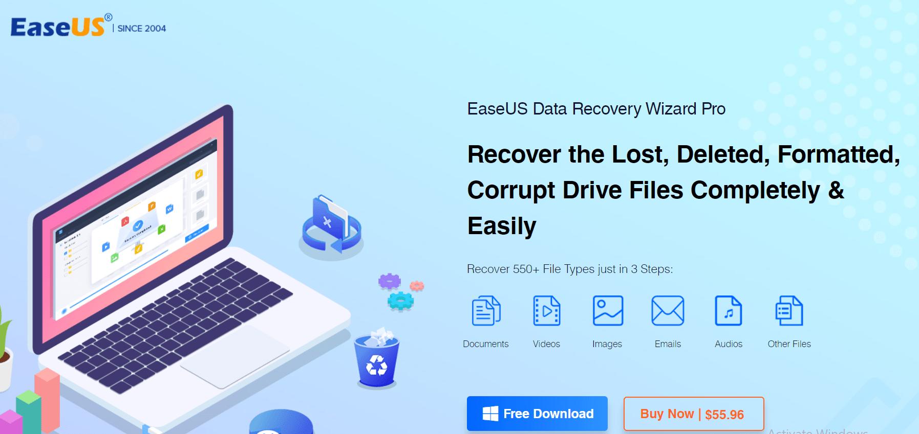 EaseUS Data Recovery Coupon