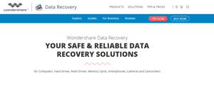 Wondershare Data Recovery Coupons Codes September 2016