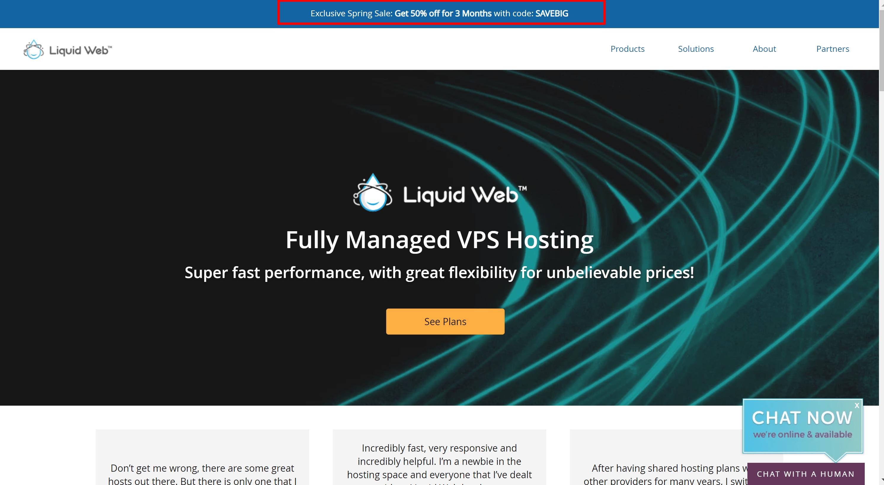 Liquidweb hosting sale