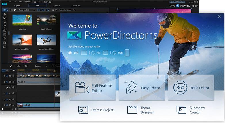 cyberlink power director features