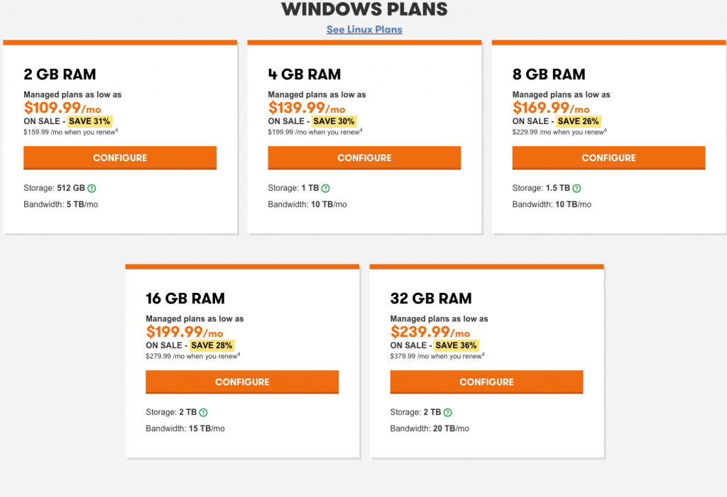 Godaddy-Windows-Dedicated-Server