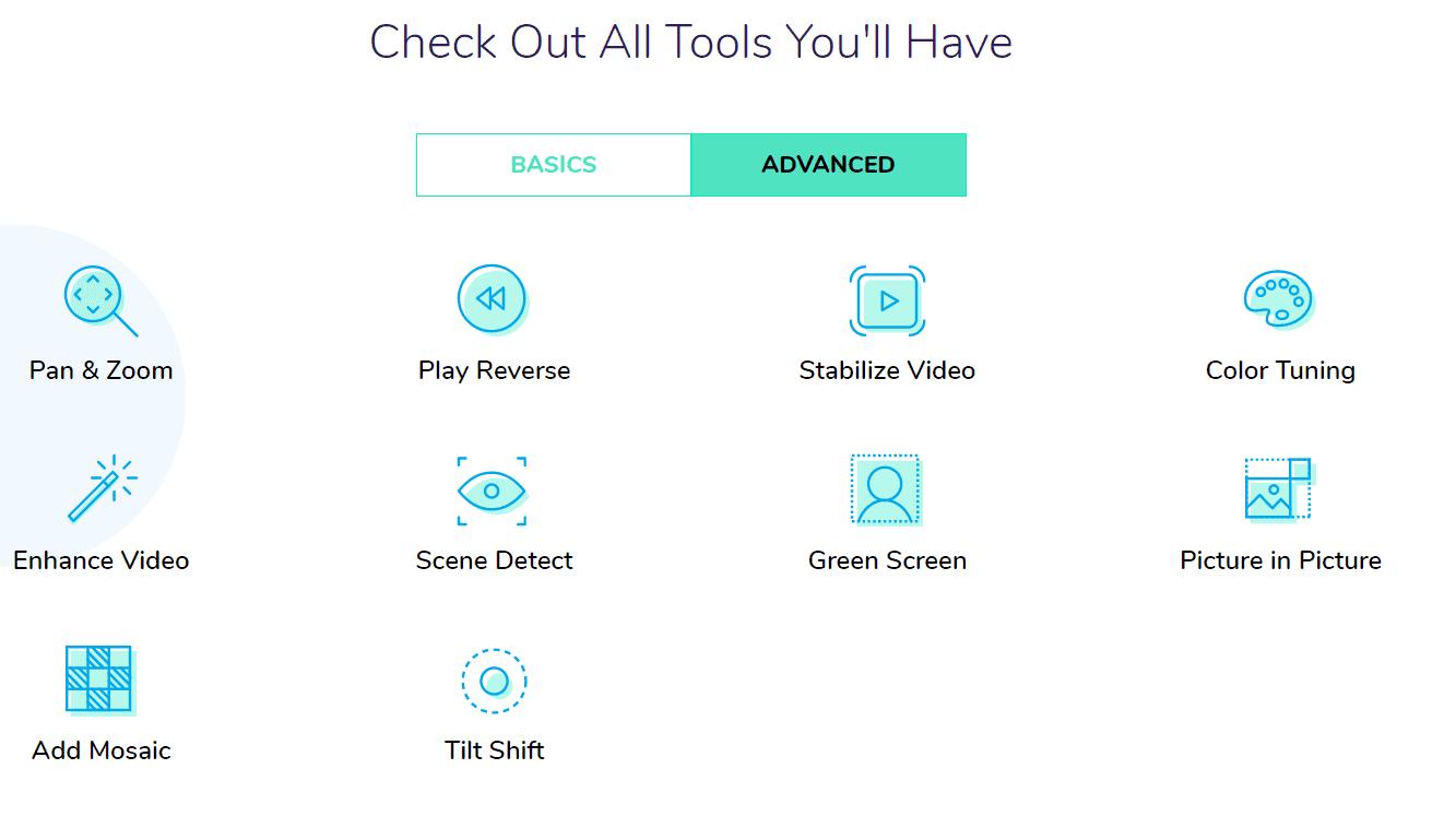wondershare advanced tools