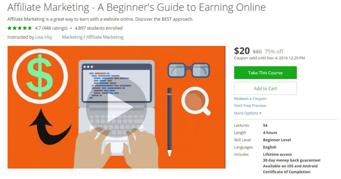Best Udemy Courses for Internet Marketers & Entrepreneurs