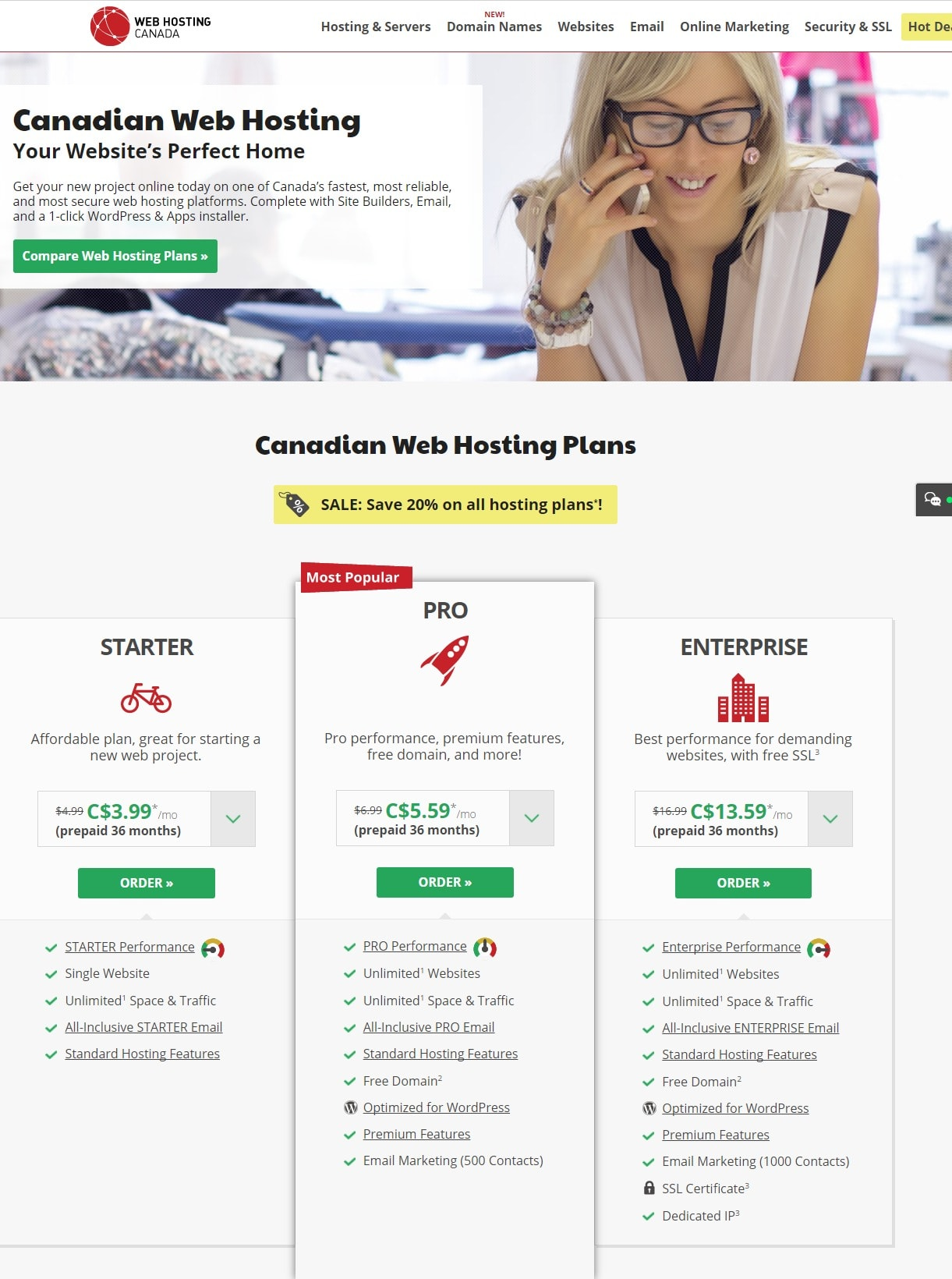 web hosting canada pricing- Web Hosting Providers In Canada/Toronto