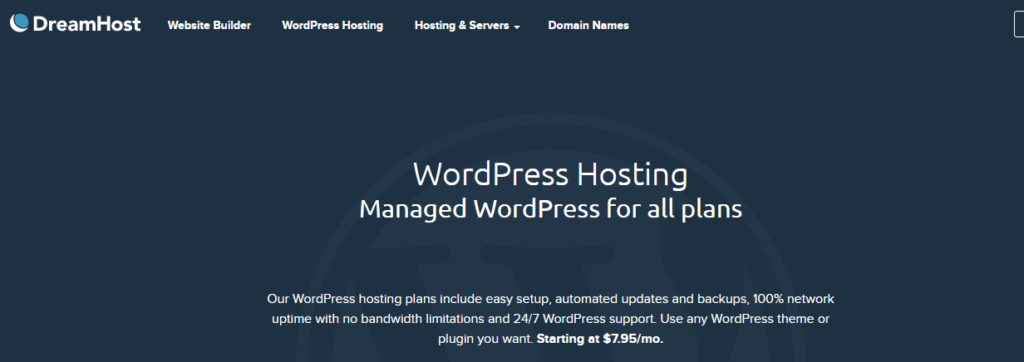 dreamhost- Best Web Hosting Providers In UK