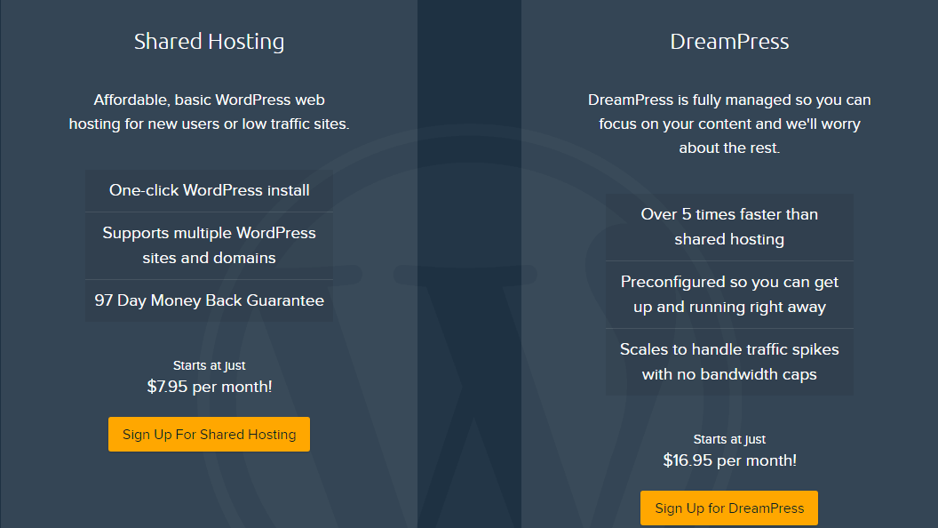 dreamhost pricing plans- Best Web Hosting Providers In UK
