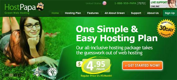 hostpapa hosting- Web Hosting Providers InCanada/Toronto