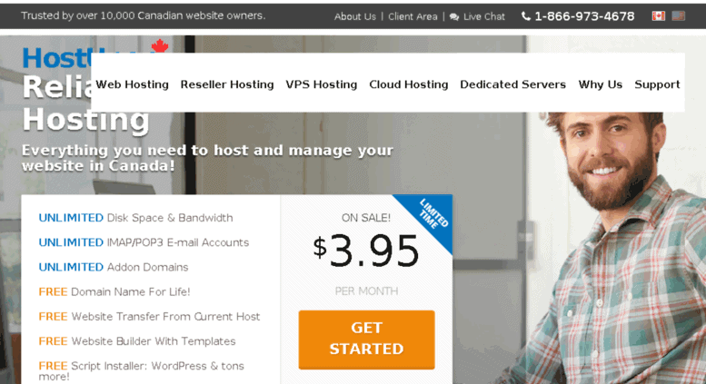 hostupon - Web Hosting Providers In Canada/Toronto
