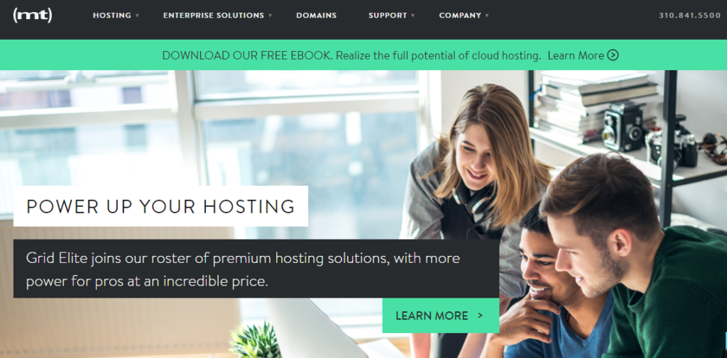 media temple- Best Web Hosting Providers In UK