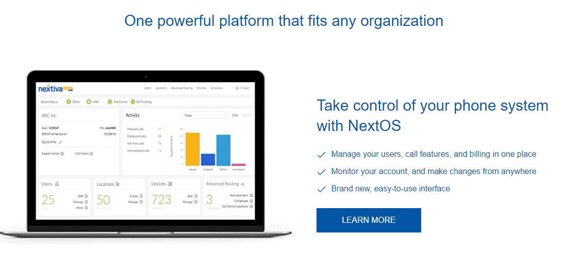 nextiva features