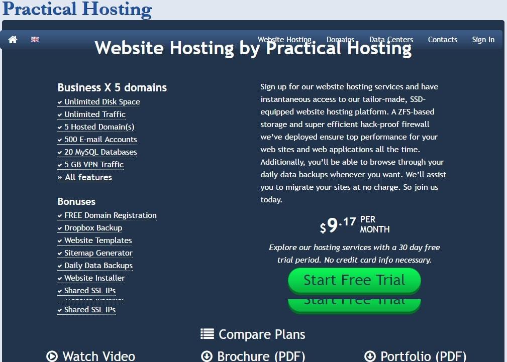 practical hosting plans- Best Web Hosting Providers In Dubai UAE