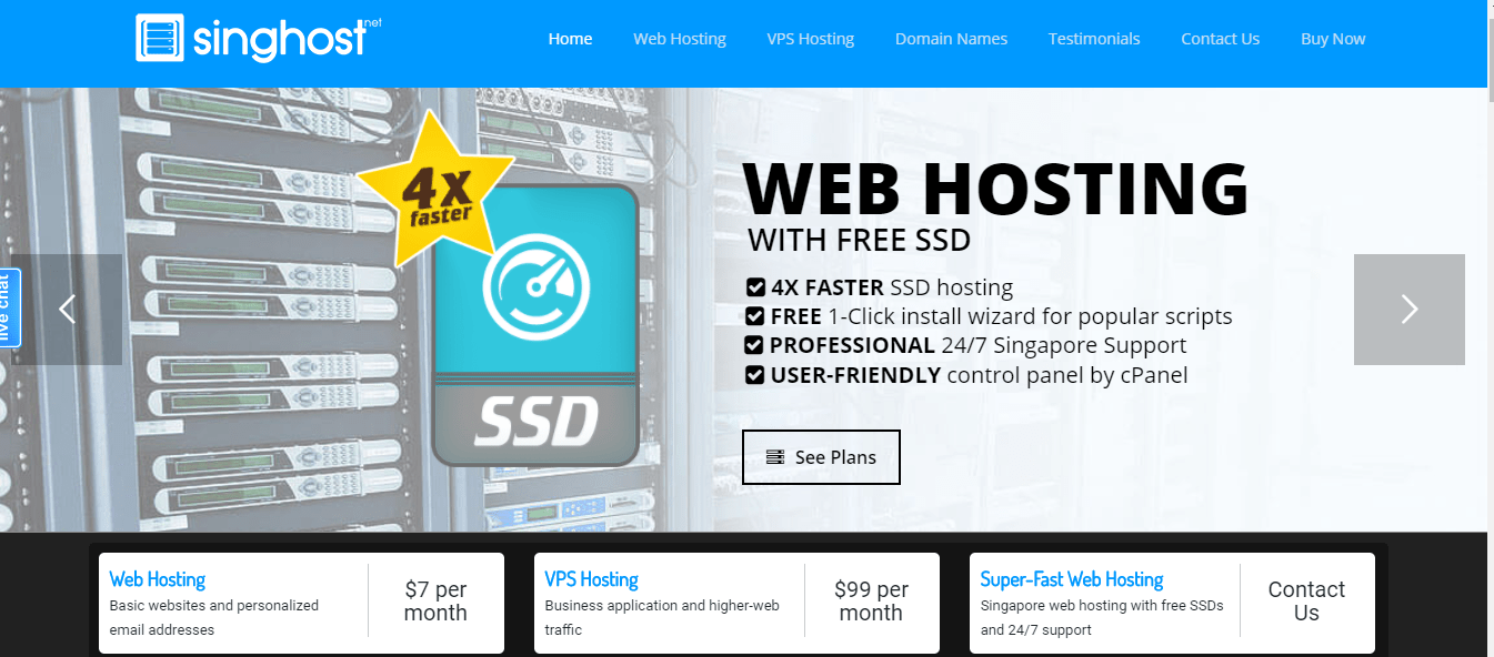 singhost- Best Web Hosting Service Providers In Singapore