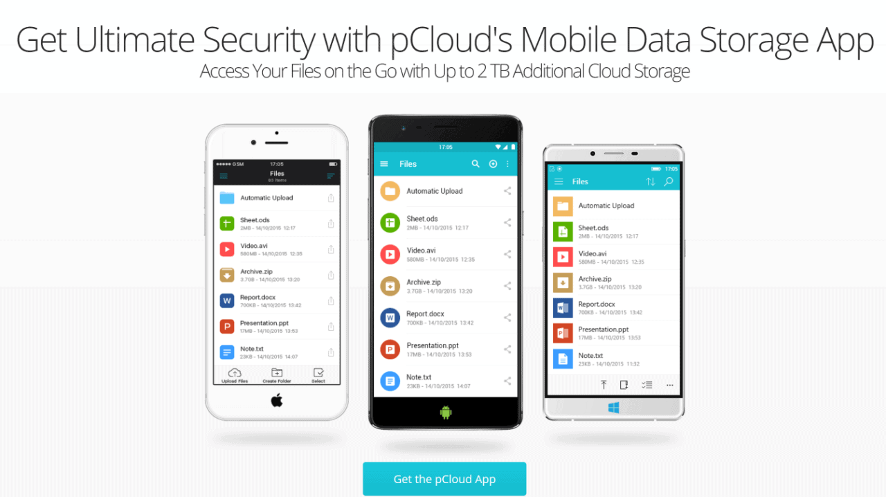 pCloud-Mobile-Encryption-App-Mobile-Data-Storage