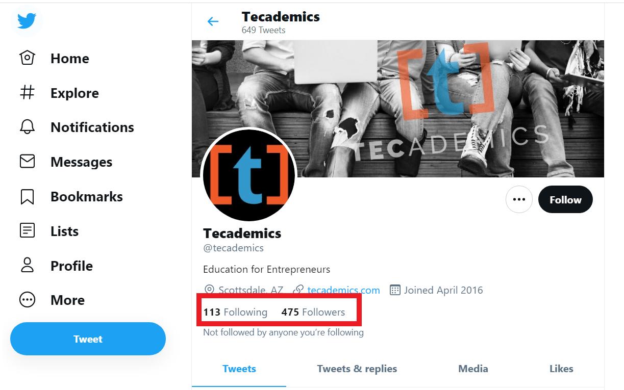 tecademics twitter