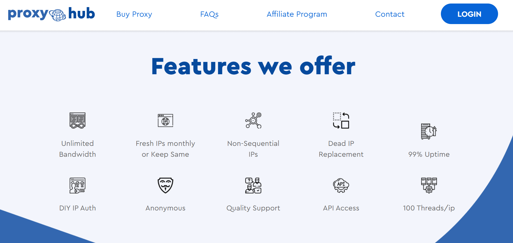 ProxyHub Features