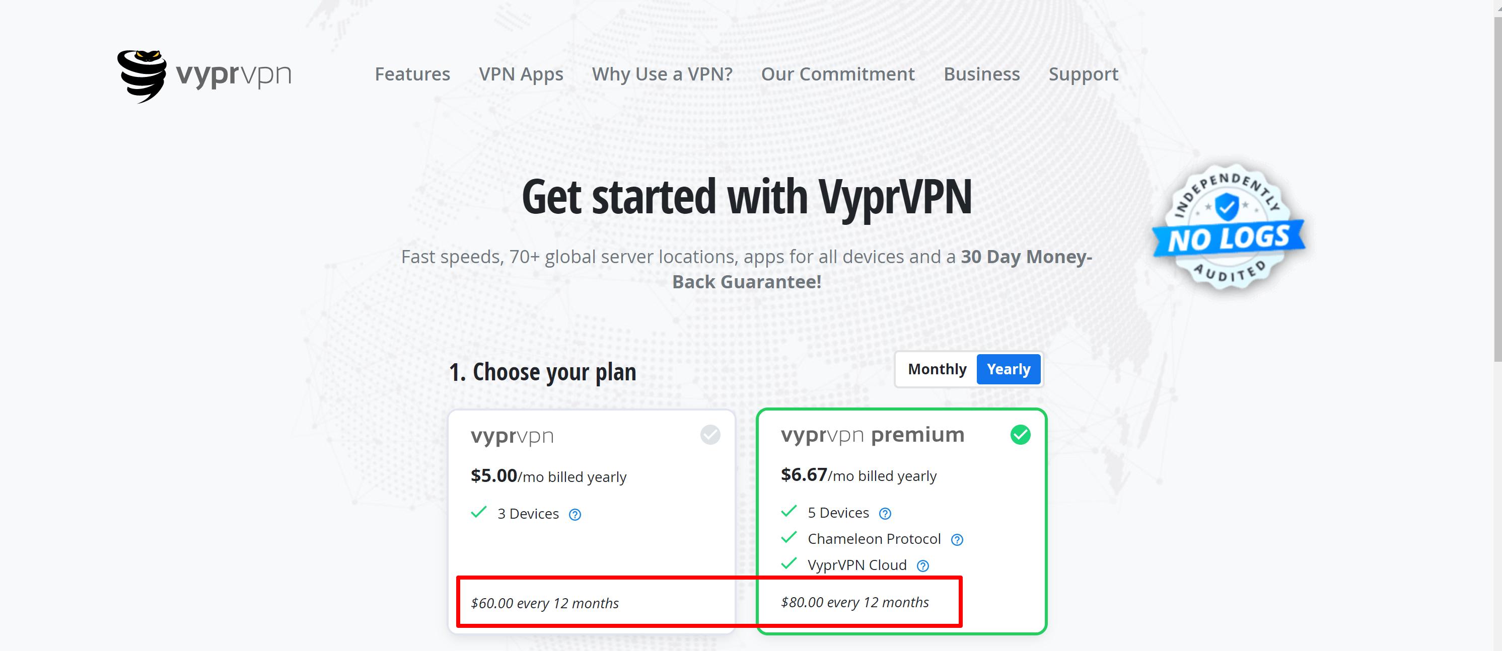 VyprVPN pricing coupon
