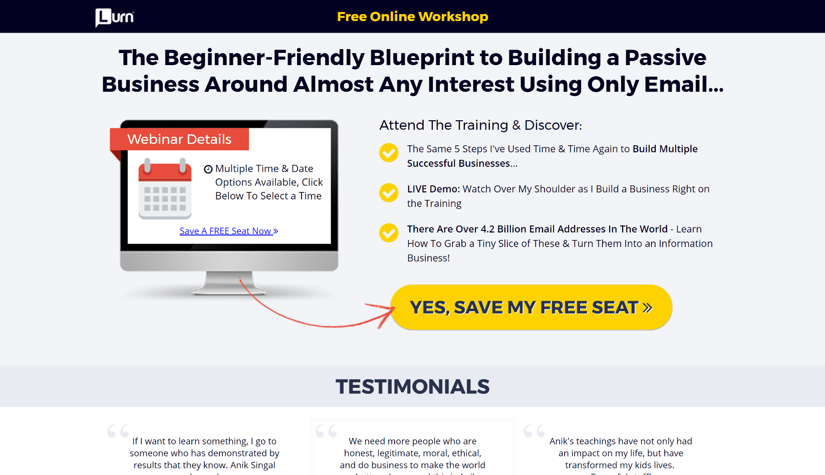 inbox-blueprint review scam dont buy honest truth revealed Anik singhal testimonials