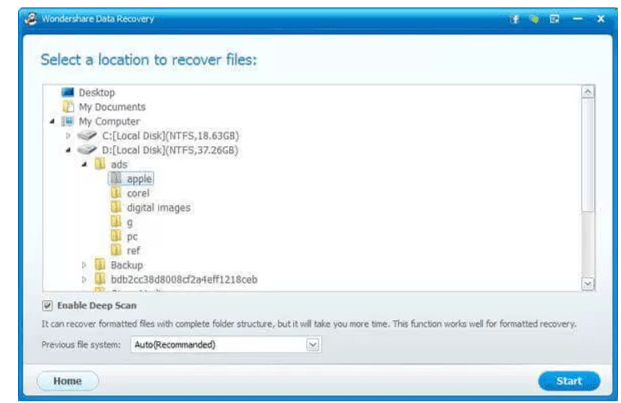 wondershare data recovery software tool review