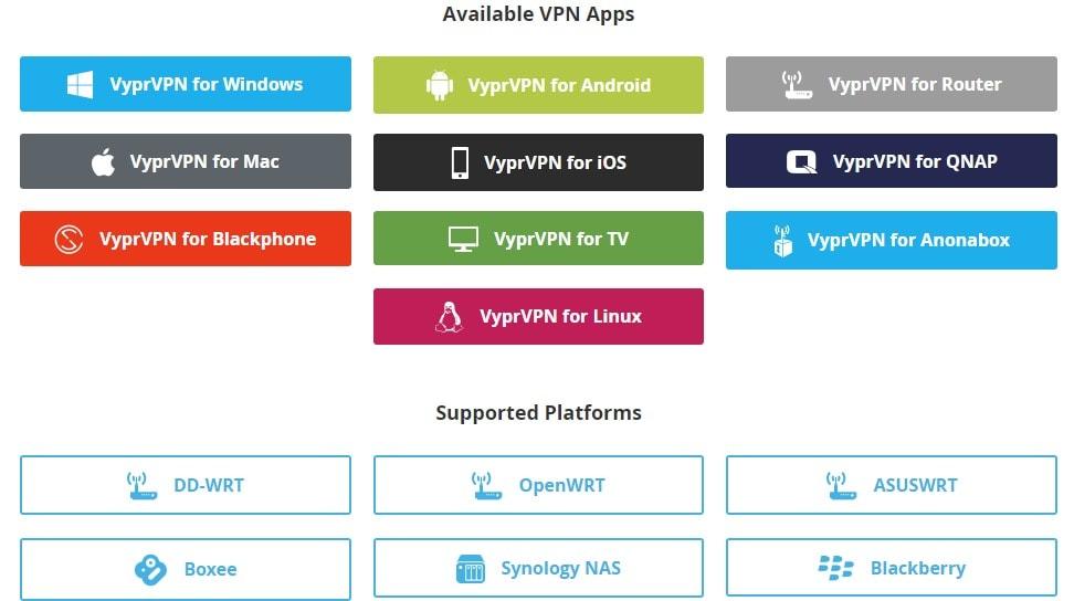 Vyprvpn Coupon - Available VPN Apps