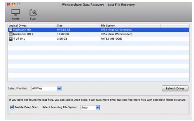 wondershare data recovery review software pricing for windows and mac features