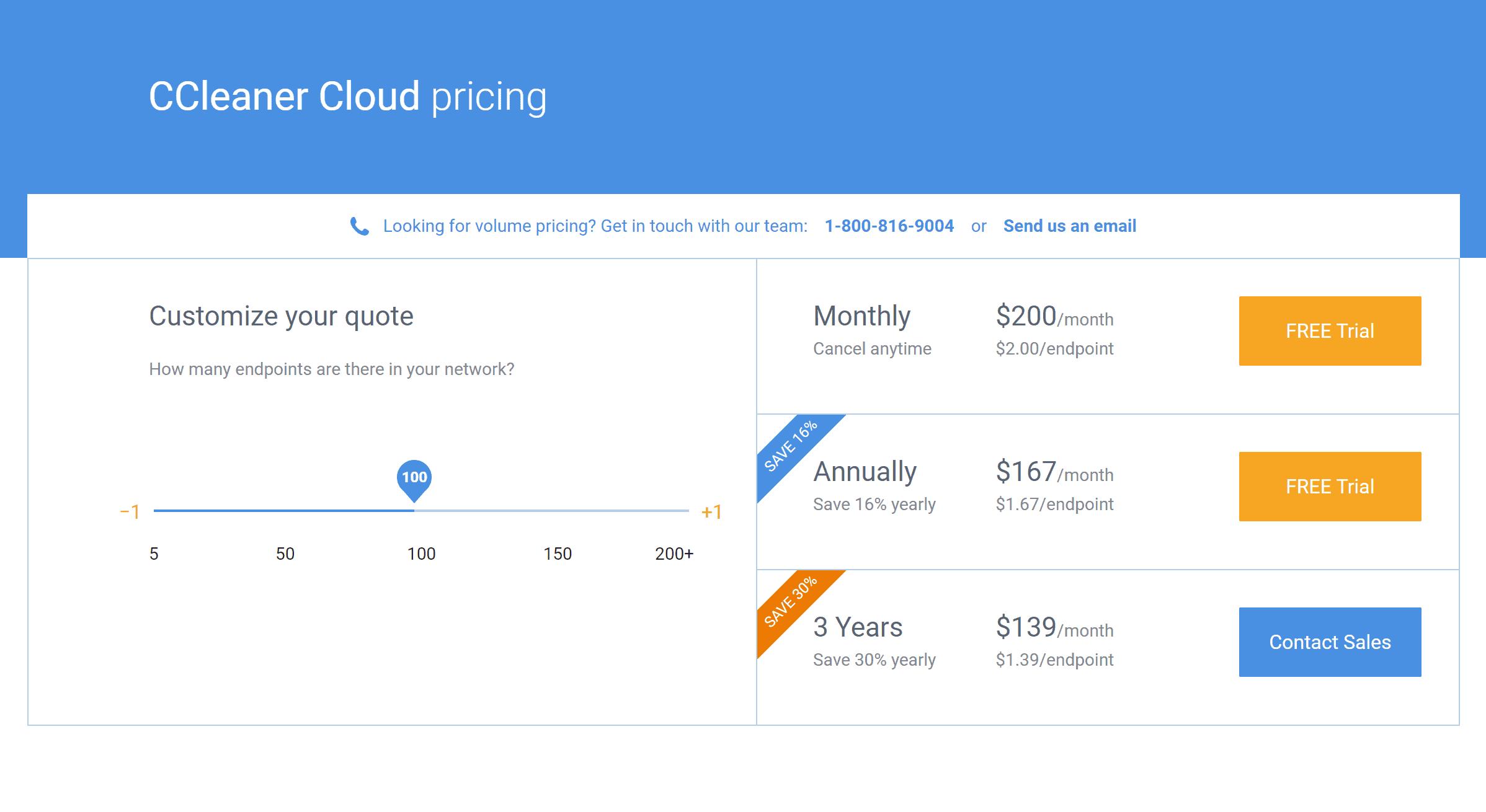 CCleaner cloud discount