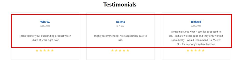 File Viewer Plus customer reviews