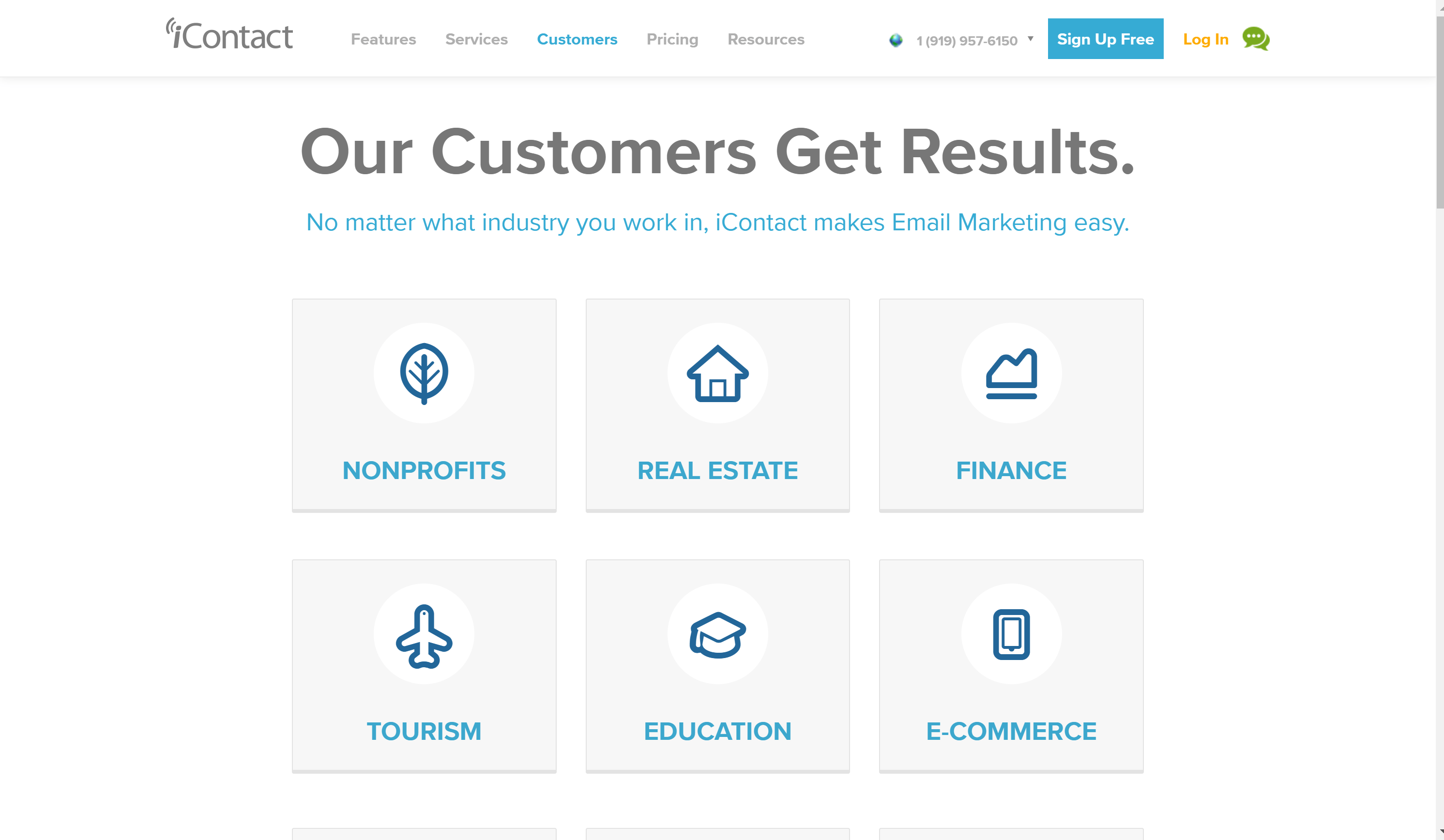 iContact Customers Get Real Results