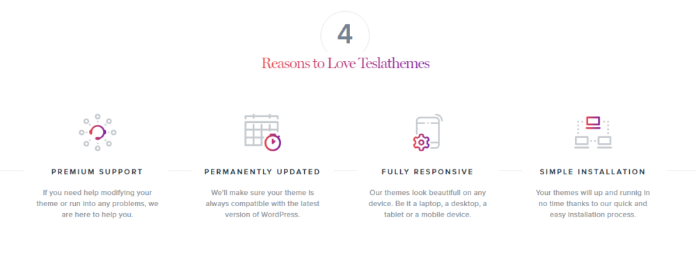 Reasons to love tesla themes