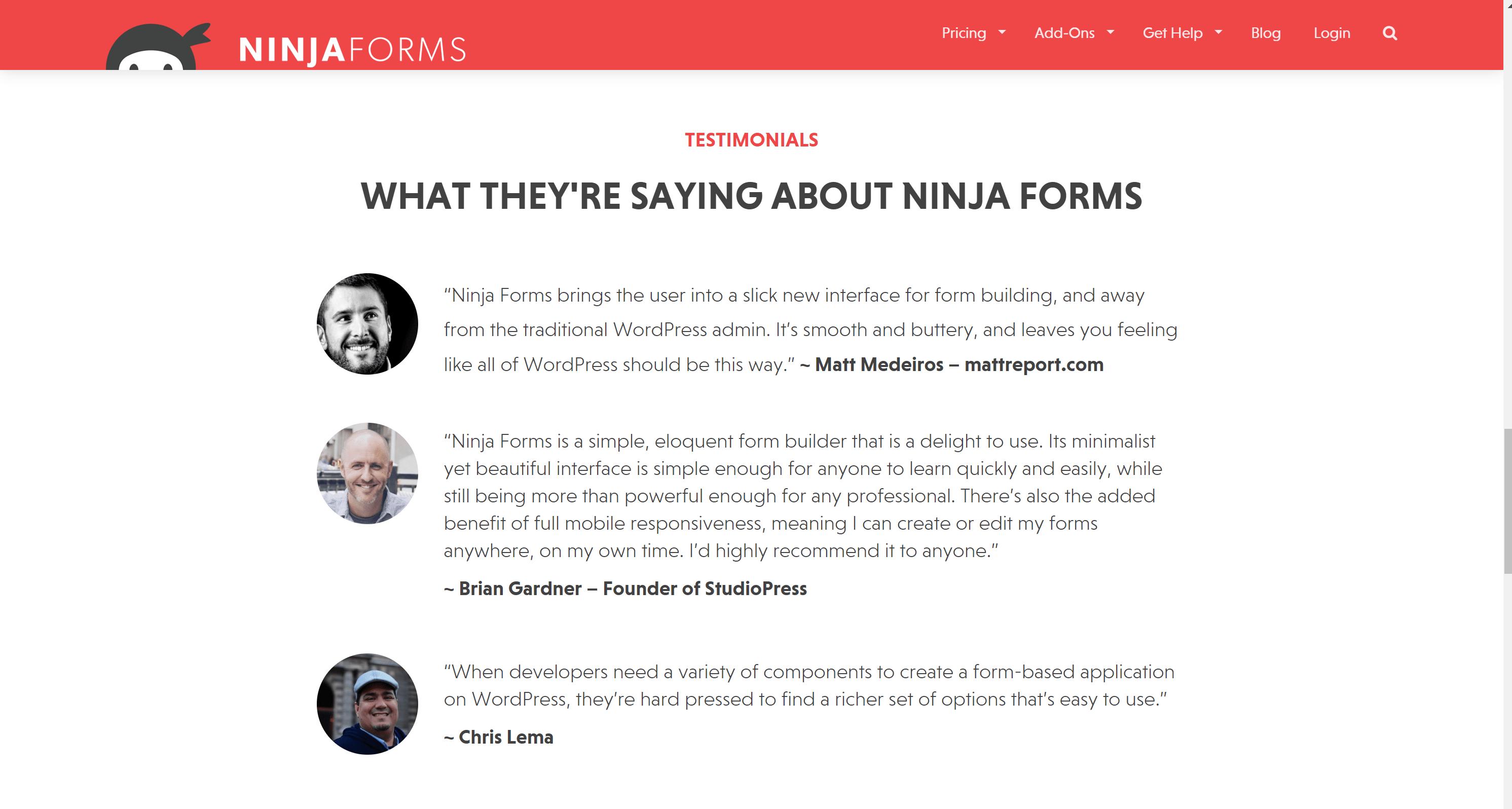 Ninja forms review