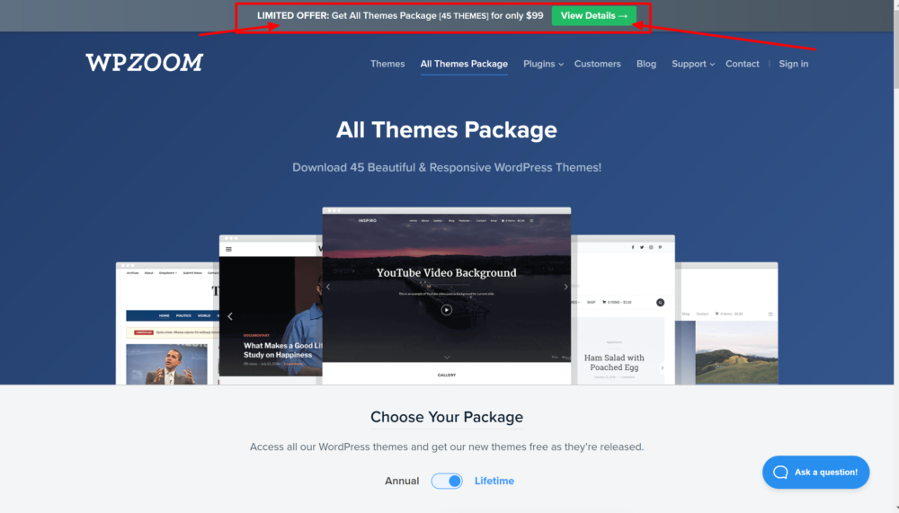 WPZoom theme packages- WPZoom Coupon CODES