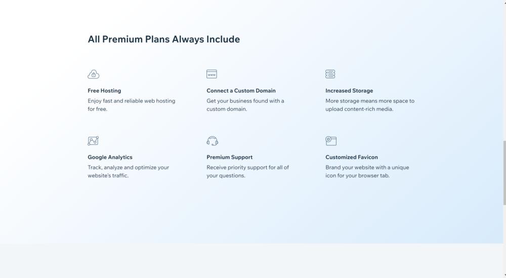 Wix premium features- Wix coupon codes 2020