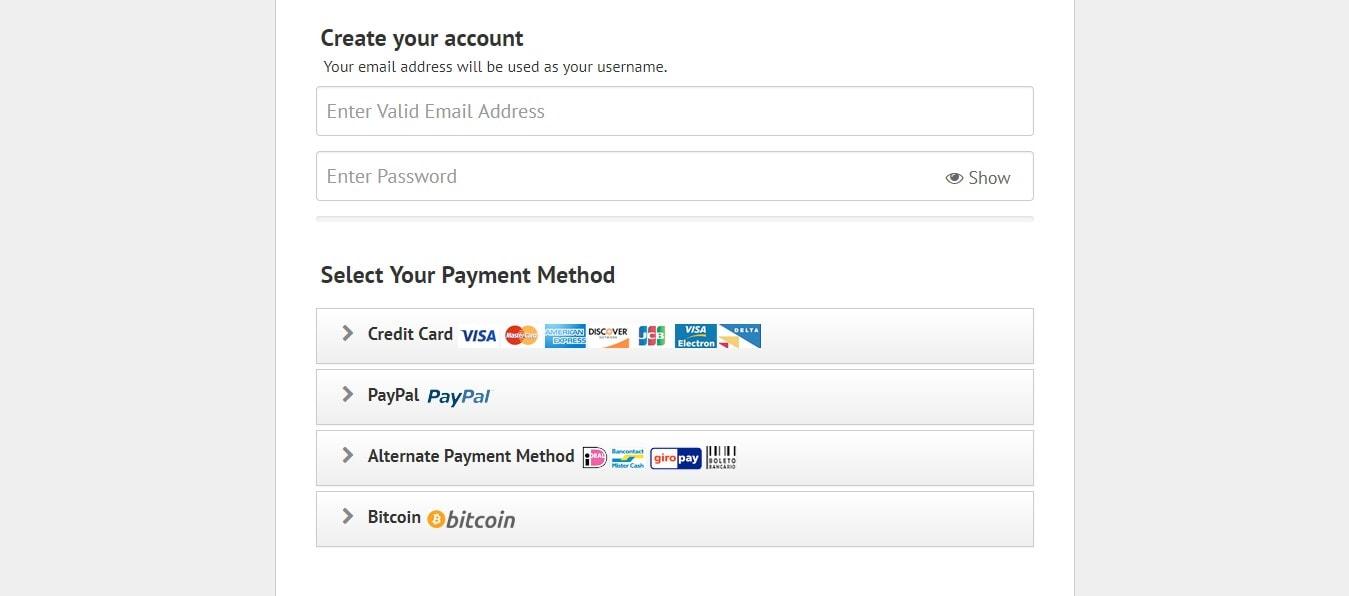 ipvanish payment