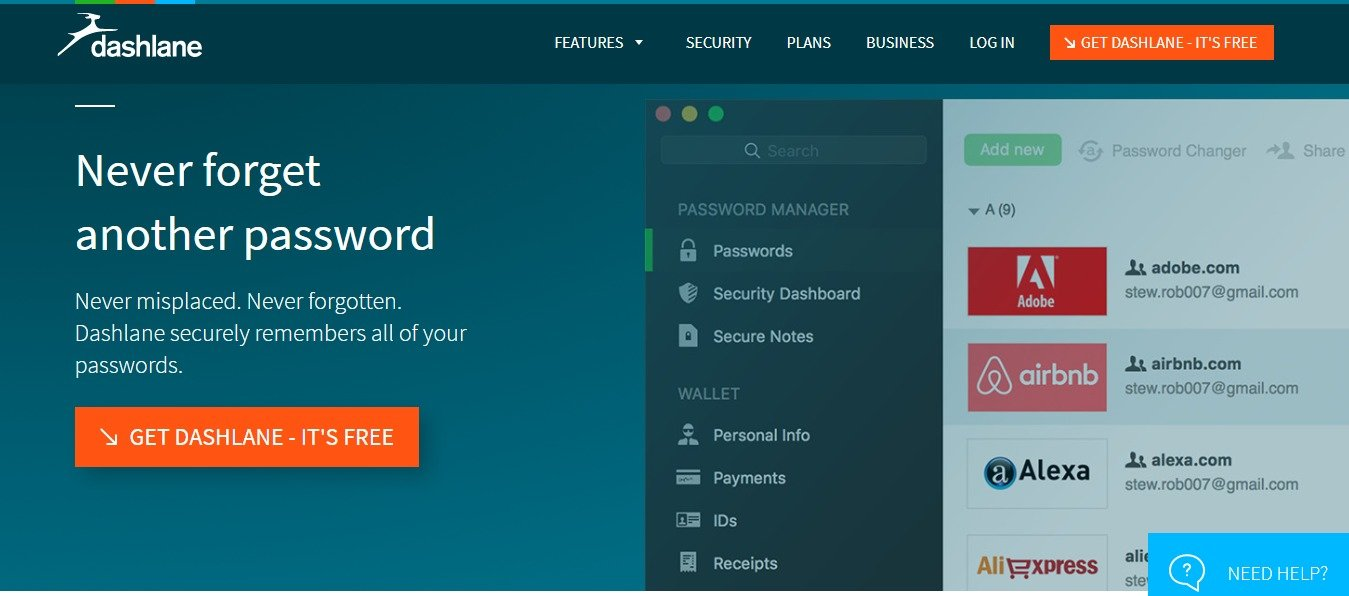 Dashlane Coupons & offers
