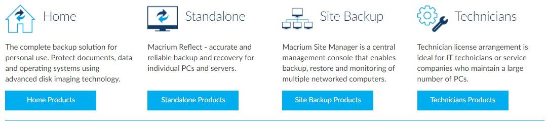 Products- Macrium Coupon Codes