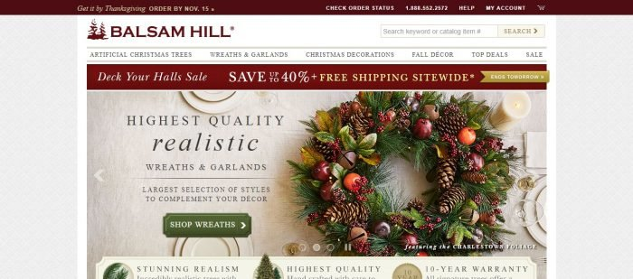 Balsam hill coupon codes 2018