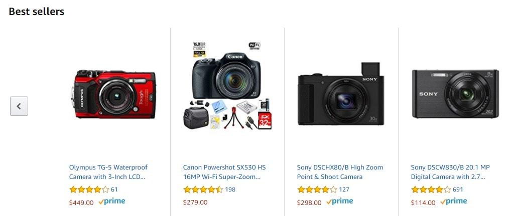 Black Friday Digital Cameras Deals