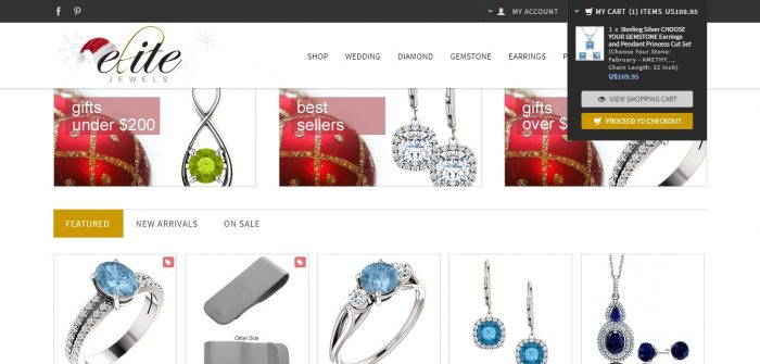 Elite Jewels Coupon Codes and offers