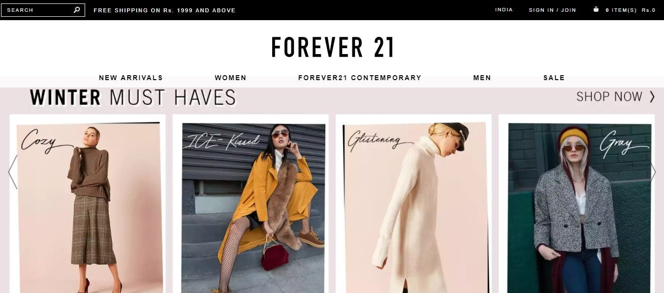 Forever21 Coupons