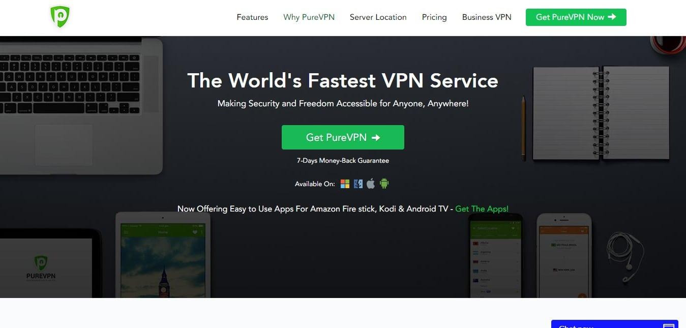 Pure VPN Service in mauritania